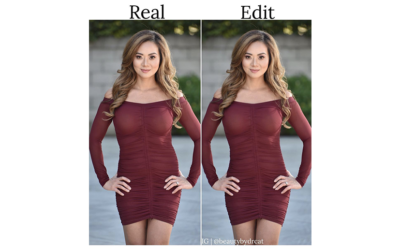 Real vs. Photoshop